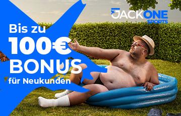 JackOne Bonus